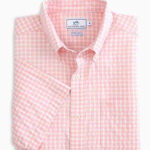 Lucayan Gingham Intercoastal Short Sleeves Shirts